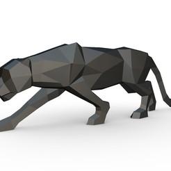 Download 3D printer designs black panther figure, stiv_3d