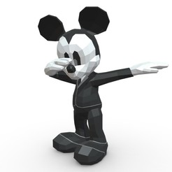 1.jpg Download 3DS file Mickey Mouse figure • 3D printing object, stiv_3d