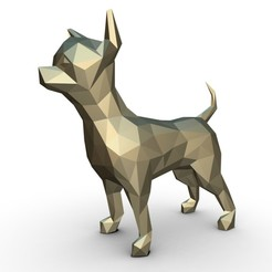 1.jpg Download 3DS file Chihuahua figure • 3D printer design, stiv_3d