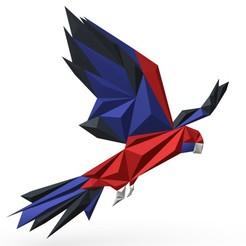 1.jpg Download 3DS file Parrot figure 3 • Design to 3D print, stiv_3d