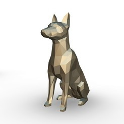 73.jpg Download 3DS file Pinscher figure • 3D printing model, stiv_3d
