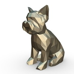 1.jpg Download 3DS file Yorkshire Terrier figure • Object to 3D print, stiv_3d