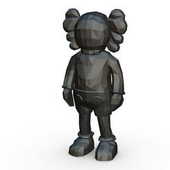 1.jpg Télécharger fichier 3DS La figure de Kaws • Objet imprimable en 3D, stiv_3d