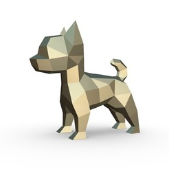 Download free 3DS file Chihuahua figure 3 • Design to 3D print, stiv_3d