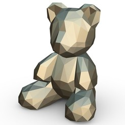 1.jpg Download 3DS file Bear figure • 3D printing template, stiv_3d