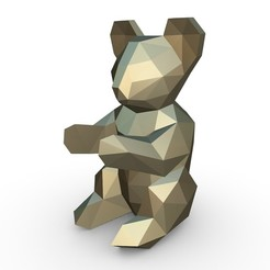 1.jpg Download 3DS file koala figure • Template to 3D print, stiv_3d