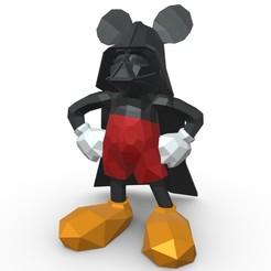 1.jpg Télécharger fichier 3DS Figurine de Mickey Mouse • Objet pour imprimante 3D, stiv_3d