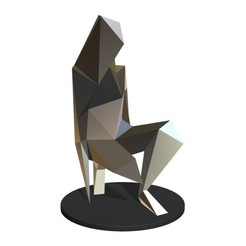 1.jpg Télécharger fichier 3DS Sculpture de fille • Objet pour impression 3D, stiv_3d