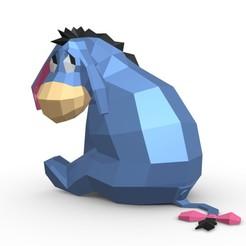 1.jpg Télécharger fichier 3DS personnage d'âne • Design pour imprimante 3D, stiv_3d