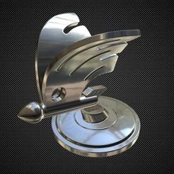 Télécharger plan imprimante 3D skoda ornement de capot 2, stiv_3d