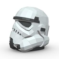 1.jpg Télécharger fichier 3DS tête de stormtrooper • Modèle à imprimer en 3D, stiv_3d