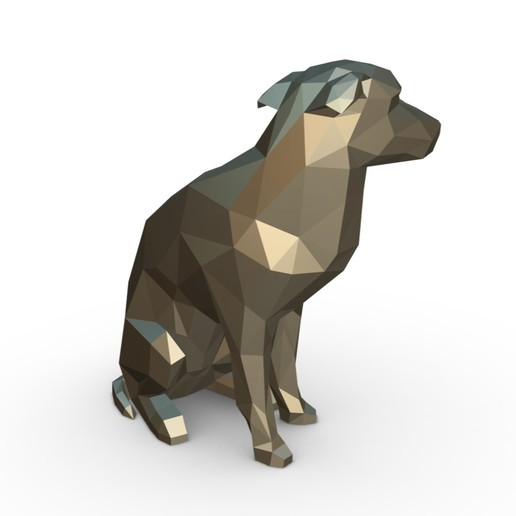 6.jpg Download 3DS file vira lata dog figure • Model to 3D print, stiv_3d
