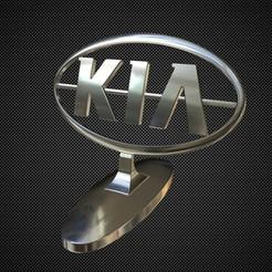 Télécharger objet 3D kia ornement de capot, stiv_3d
