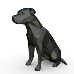 1.jpg Download 3DS file amstaff dog figure • 3D printable object, stiv_3d