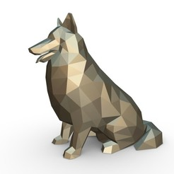 1.jpg Download 3DS file collie dog  figure • Model to 3D print, stiv_3d