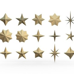 1.jpg Download 3DS file star set • 3D printer design, stiv_3d
