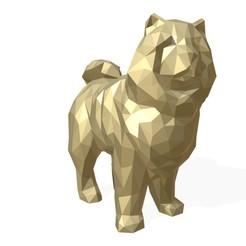 1.jpg Télécharger fichier 3DS Figurine du chien Chowchow • Plan à imprimer en 3D, stiv_3d