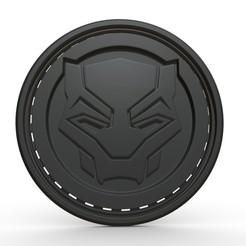 2.jpg Télécharger fichier OBJ Modèle 3D du logo de la panthère noire • Objet pour imprimante 3D, stiv_3d