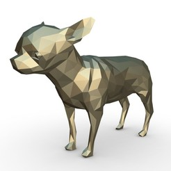 1.jpg Download 3DS file Chihuahua figure 2 • 3D printable design, stiv_3d