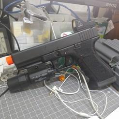 KakaoTalk_20200927_220926694.jpg Télécharger fichier STL we glock doctor dot mount (airsoft) • Plan imprimable en 3D, guana19