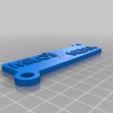 Télécharger fichier STL gratuit Porte-clés puzzle personnalisable pour les couples (ou les amis) • Plan pour imprimante 3D, prospect3dlab