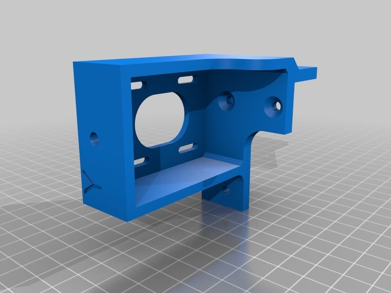bcd8d8cd52845927981a3b5adb0865cb.png Download free STL file Tronxy X5S Belt geometry aligned screw adjust motor mounts • Design to 3D print, gnattycole