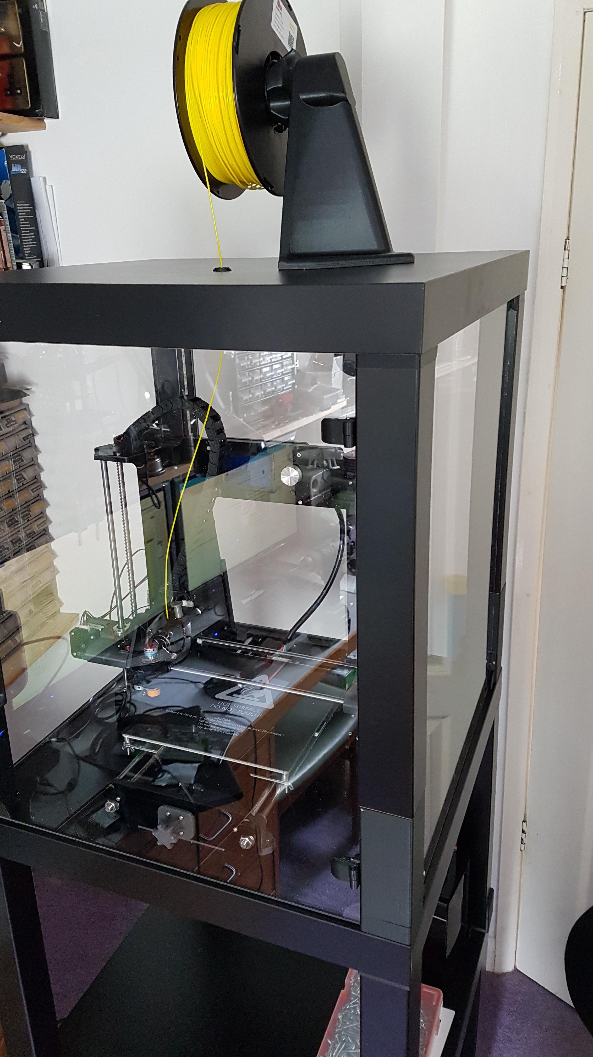 20180827_123700.jpg Télécharger fichier STL gratuit Couvercle de bobine pour les enceintes avec des bidons déshydratants en option • Modèle à imprimer en 3D, gnattycole