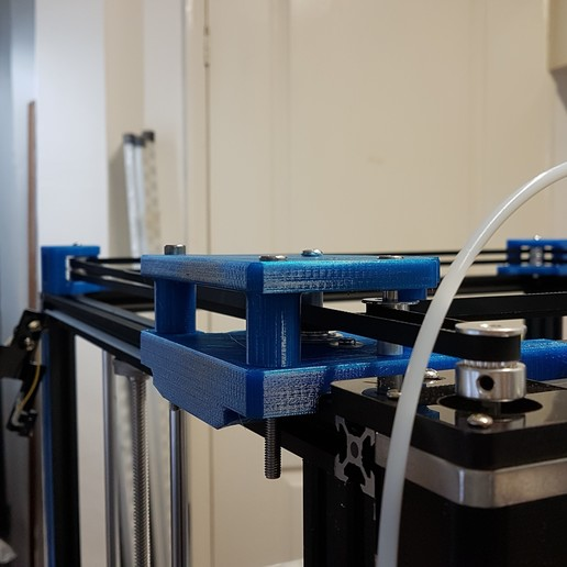 Nats_gantry_and_belt_geo.jpg Download free STL file Tronxy X5S Gantry carriages and belt geometry alignment • 3D printing design, gnattycole