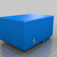 Download free STL file Kossel PSU rear Mounting (Or any 2020 frame) • 3D printable template, gnattycole