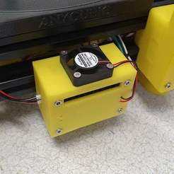 20200626_115114.jpg Download free STL file High Current Buck Converter case with fan • 3D printer model, gnattycole