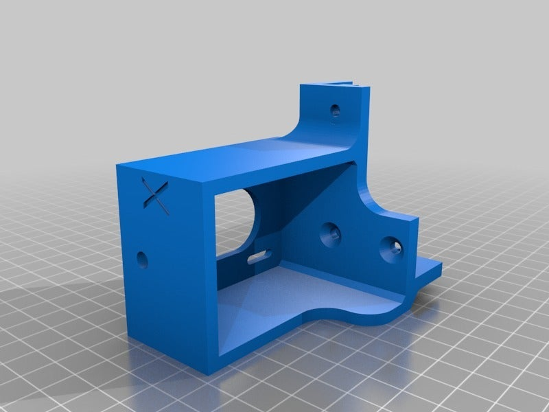 b4e507a0f4fcb3947e0d215aaf9c3e95.png Download free STL file Tronxy X5S Belt geometry aligned screw adjust motor mounts • Design to 3D print, gnattycole