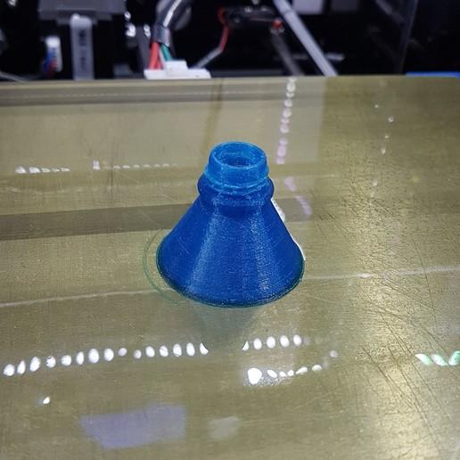 funnel.jpg Télécharger fichier STL gratuit Couvercle de bobine pour les enceintes avec des bidons déshydratants en option • Modèle à imprimer en 3D, gnattycole