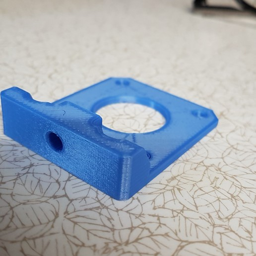 motor_mount_slide_plate.jpg Download free STL file Tronxy X5S Belt geometry aligned screw adjust motor mounts • Design to 3D print, gnattycole