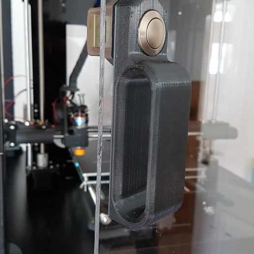20180809_093452.jpg Download free STL file IKEA Lack Door handle and latch mount • 3D printer template, gnattycole