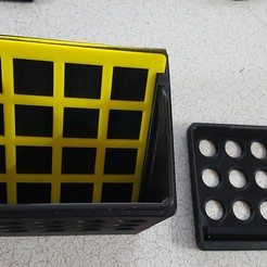 Download free 3D printing designs IKEA Lack enclosure Air Filter intake, gnattycole