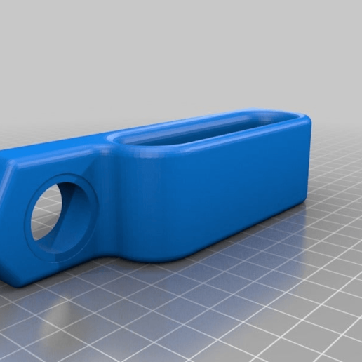 551ef0d2d01a57d29ed065df9b36e6ca.png Download free STL file IKEA Lack Door handle and latch mount • 3D printer template, gnattycole