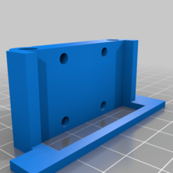 Download free STL file Linear rail upgrade for X axis if using Mega gantry blocks • 3D printing object, gnattycole