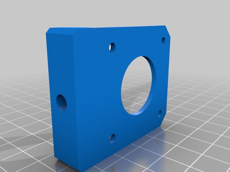 2f6f569392743f823ed98da5b2dfefe8.png Download free STL file Tronxy X5S Belt geometry aligned screw adjust motor mounts • Design to 3D print, gnattycole