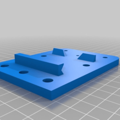 Download free STL file MakerFarm i3v Quick Change X Carriage (and mounts) • 3D printing design, AbuMaia