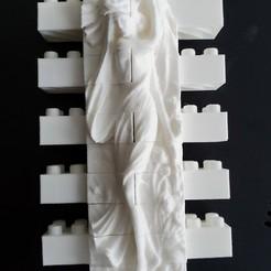 20200129_121831.jpg Télécharger fichier STL gratuit Set mural crépusculaire Montini (compatible Lego) • Modèle pour imprimante 3D, leftspin