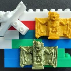 20200217_114544.jpg Download free STL file Montini Killer Bat (Lego Compatible) • 3D printable design, leftspin