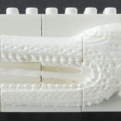 assembledWall.png Télécharger fichier STL gratuit Set mural pour le festin de crocodile Montini (compatible Lego) • Modèle pour impression 3D, leftspin