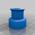 pulley_t-mxl-xl-htd-gt2_n-tooth_20150912-25888-gc4u0i-0.png Télécharger fichier STL gratuit GT2 20t8 6+s rb • Modèle à imprimer en 3D, lmirel