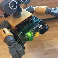 82F8561C-0218-425C-90A9-D854767689D6.jpg Télécharger fichier STL gratuit mini Wall-E remix avec Arduino • Design pour imprimante 3D, lmirel