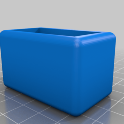 Download free 3D printer templates IKEA LÖNSET Slatted bed base bumper, piebandit