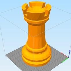 Tour d echec.jpg Télécharger fichier STL gratuit Tour echec H46,2 • Modèle imprimable en 3D, damien_marie