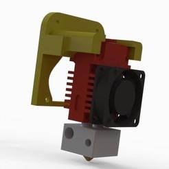 2.2.jpg Télécharger fichier STL gratuit Geeetech A20m mount 2in1 hotend • Plan pour imprimante 3D, jyc35