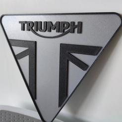 Download 3D print files Triumph logo, Sepp1989