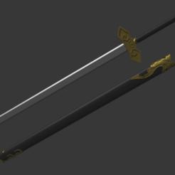 Descargar archivo 3D gratis Espada suibia, RepliKraft