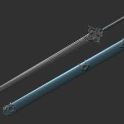 Impresiones 3D gratis Espada Bichen, RepliKraft